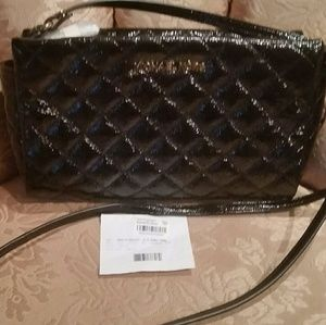 NWT M KORS PATENT QUILT CROSSBODY BLOOMINGDALES